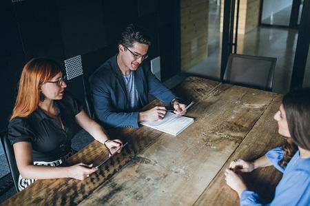 Vorstellungsgespräch bei einem Schweizer KMU